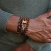 mens wooden bracelets